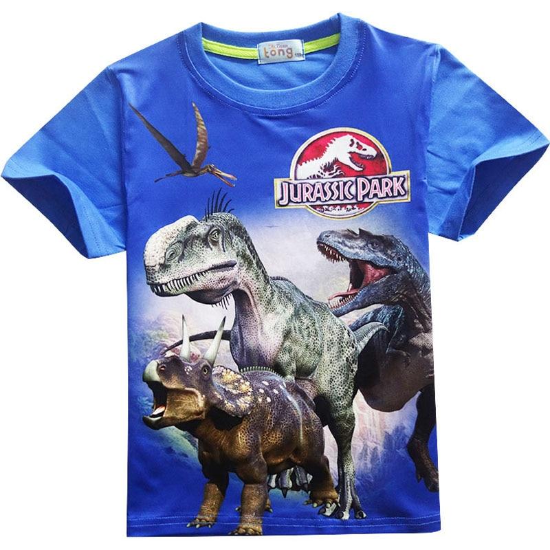 New Summer 2017 Boy T-shirt Cotton O-neck Cartoon Kids Tee Shirts Cool Toddler Clothes Casual Children Fashion Tshirts Clothing