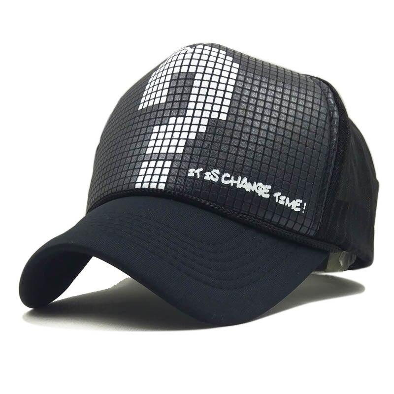 JYBHYX Fashion Women Men Lovers Snapbacks Casual Hip Hop Cap Question Mark Mesh Baseball Caps Bonet Touca Summer Hats 5061