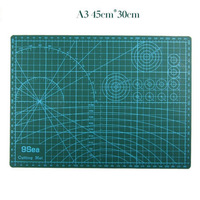 A3 Cutting Mat 45 30cm Manual DIY Tool Cutting Board Double Sided Available Self Healing Cutting