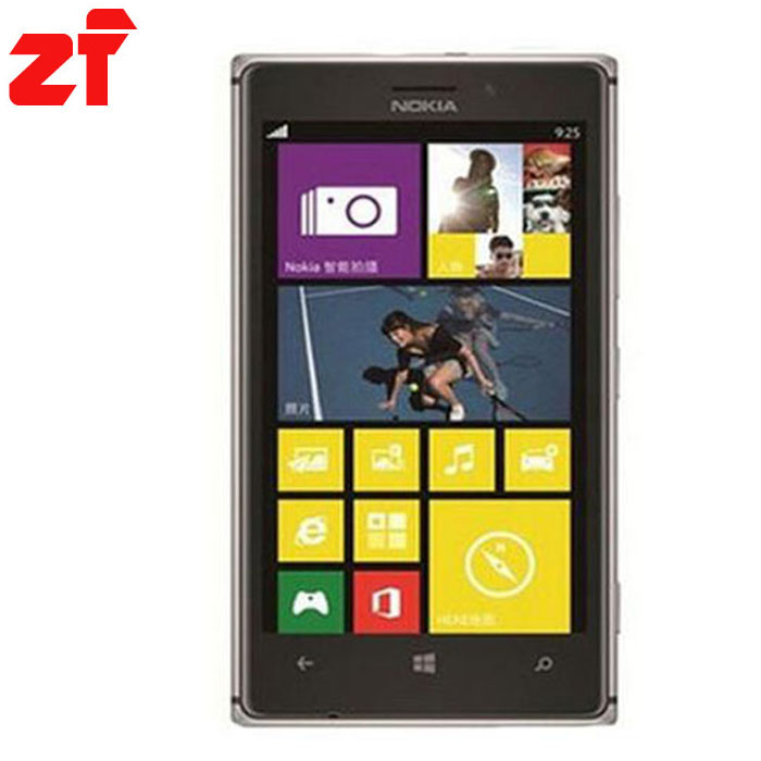 Unlocked Original Nokia Lumia 925 Windows8 OS mobile phone Dual Core 4 5 WIFI GPS 1GB