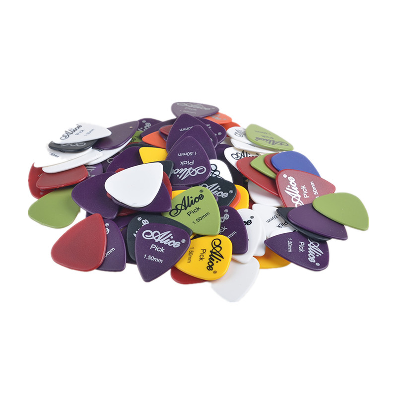 50PCS Aroma Guitar Picks Matte ABS Antiskid Antislip Plectrum Thickness 0.58mm 0.71mm 0.81mm 0.96mm 1.2mm 1.5mm