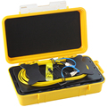 Fiber Optic OTDR Launch Kabel Box 1 km SM Single mode FC/UPC-FC/UPC OTDR Toten Zone Eliminator faser Ringe
