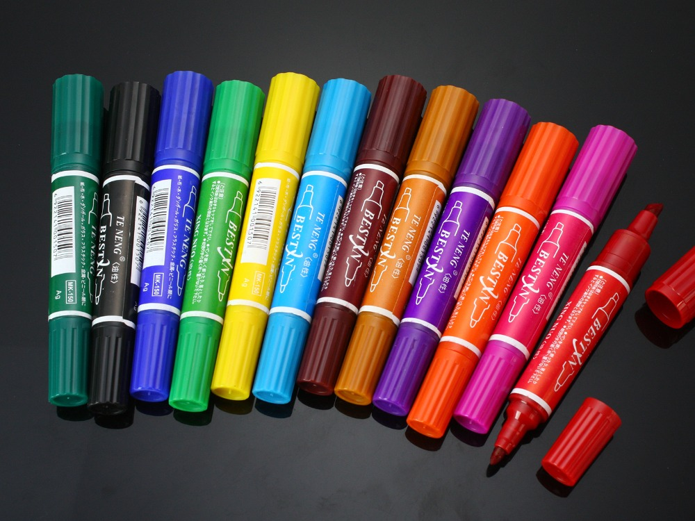 Bağlama Marker Set su geçirmez 12 Renk Fly; - Balık Tutma - Fotoğraf 2