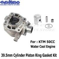 39,5 мм цилиндр поршневых колец Комплект прокладок новый для Ktm50 Ktm 50 Sx Junior вода крутой двигатель цилиндр поршневой комплект