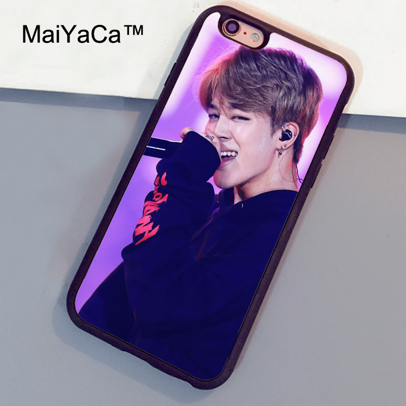 Phone Bags & Cases Professional Sale Maiyaca Bts Bangtan Boys Novelty Fundas Phone Case Cover For Apple Iphone 5 5s Xr Se And 6 6s 7 7plus 8 8plus Phome Case Cellphones & Telecommunications