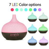 400ml Cracked Shell Timing WiFi Ultrasonic Aroma Diffuser Humidifier with 7 Color Lamp Air Humidifier USB Mini Mist Maker New