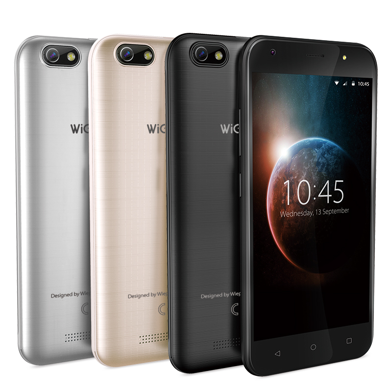 WEIPPO S5 5.0 pouces téléphone intelligent avec Andriod 7.0 MTK6580 double caméra 8.0MP support GPRS/BT/Wifi
