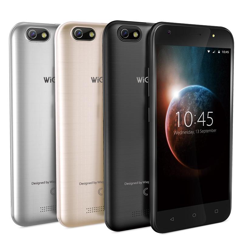 WEIPPO S5 5.0 pouces téléphone intelligent avec Andriod 7.0 MTK6580 double caméra 8.0MP soutien GPRS/BT/Wifi