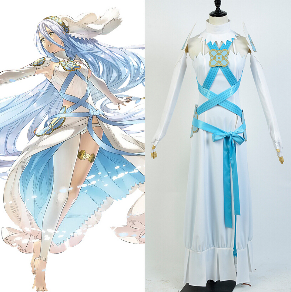 Fire Emblem If Fates Birthright Aqua Dress Cosplay Costume Female And Girls For Halloween Christmas Suit fates warning fates warning theories of flight 2 lp