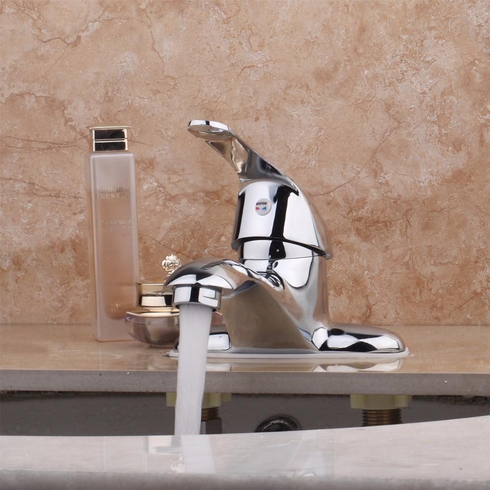 Aliexpress.com : Buy Deck Mounted Single Handle Counter top Basin ...