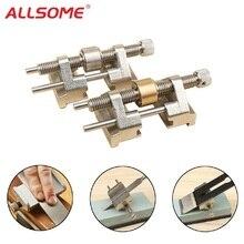 Прецизионная хонинговая направляющая для долота плоского лезвия, утягивающая железная кромка для заточки деревянных работ, коническая угловая точилка, абразивные инструменты