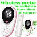 Precisa Embarazada Doppler Fetal Monitor de Latidos Del Corazón Del Bebé 10 juegos de Memoria Reacall Digital LCD Pantalla * Sonda Inalámbrica * Super silencio
