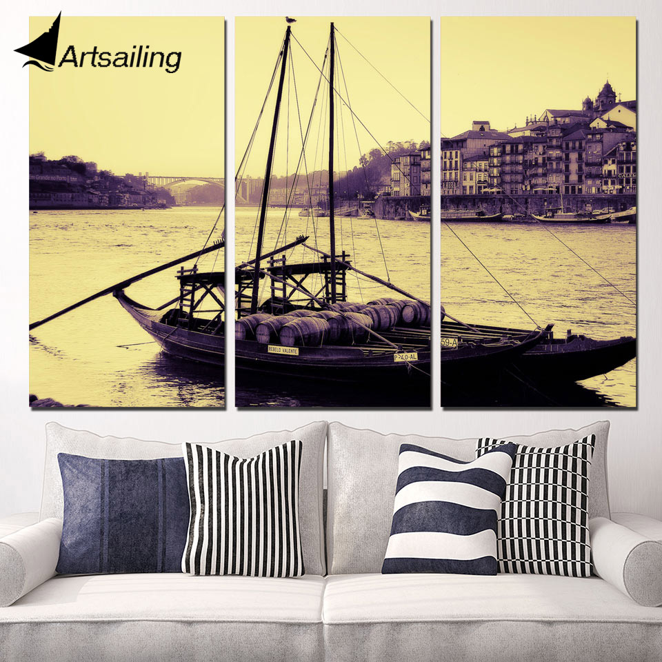 Modern Boat Wall Art Component - The Wall Art Decorations ...