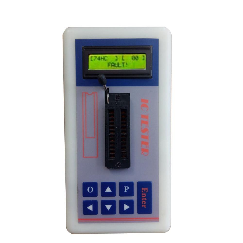 IC Tester Transistor Tester Detect ntegrated Circuit IC Maintenance Tester Meter MOS PNP 74ch 74ls CD4000