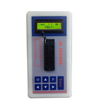 IC Tester Transistor Tester Detect ntegrated Circuit IC Maintenance Meter MOS PNP 74ch 74ls CD4000 HEF400 4500 POWER amplifier