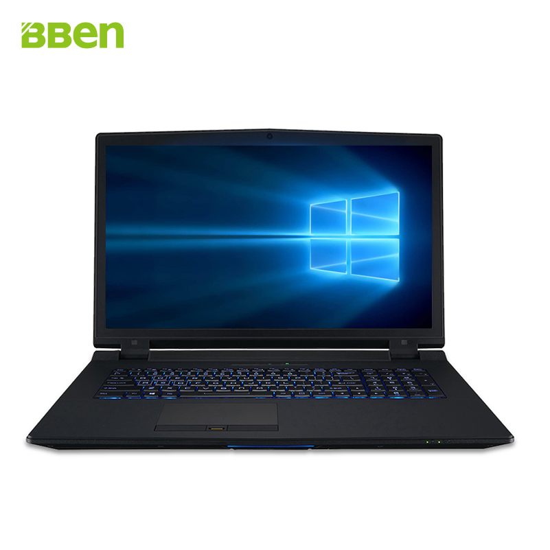 I7-6700K laptop notebook DDR4 8GB/128GB M.2 SSD+1TB HDD 17.3 inch FHD 8M Cache, 4.0GHZ-4.20 GHz 6GB DDR5 Video RAM
