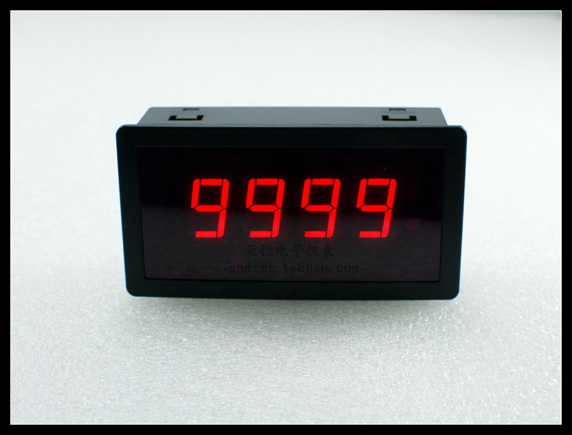 Intelligent digital counter electronic counter DRO head Save when power failure 4-digit display can be cleared range 0-9999