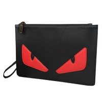 Female Wallet women Man Little monster Clutch bag personality High capacity Gift box