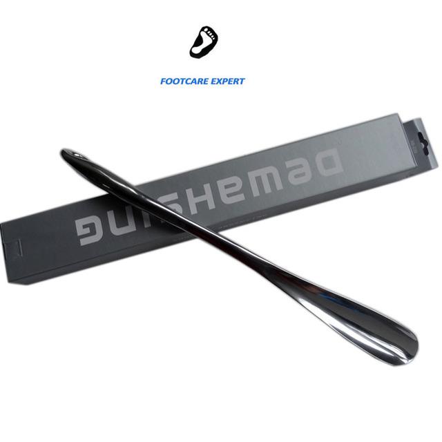 Profissional 52 cm Durable Colher de Aço Inoxidável Fácil Handle Sapato Horn Calçadeira Sapato Levantador Ferramenta