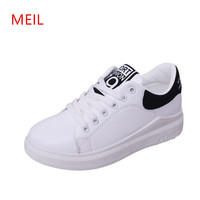 Ladies White Sneakers Womens Casual White Platform Wedges Shoes for Women Casual Shoes Woman Sneakers Female Sneakers