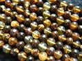 Free shipping (54 beads/set/11g) natural Mexico 7-7.5mm amber loose  beads for jewelry making design