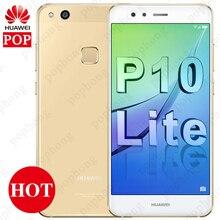 """Orijinal Huawei P10 Lite Smartphone Android 7.0 yan cam gövde 4GB 64GB Octa çekirdek 5.2 """"1920x1080 P Huawei Nova lite cep telefonu"""