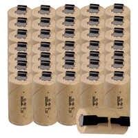 Самая низкая цена 36 шт SC батарея 1,2 v батареи перезаряжаемые 3000mAh nimh батарея для электроинструментов akkumulator