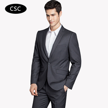 2017 Men Latest Coat Pant designs Fashion Tuxedo Business Suit Slim Fit One Button Men Suits Blazers 2 Pieces(Jacket+Pants)