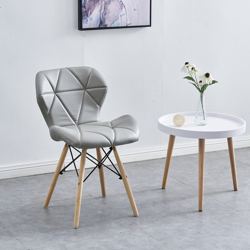 Nordic Net Red Bedroom Desk Chair Backrest Stool Reception Computer Simple Lazy People Chair - Color: 14