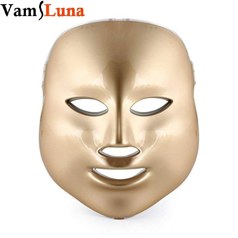 3 couleurs traitement de la lumière beauté du visage soins de la peau rajeunissement potothérapie masque PDT LED Photon thérapie beauté soins du visage pour la maison
