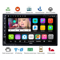 ATOTO A6 2Din Android Car GPS Navigation Stereo Player/2*Bluetooth/A62721PB 2G+32G/2A Quick charge/Indash Multimedia Radio/WiFi
