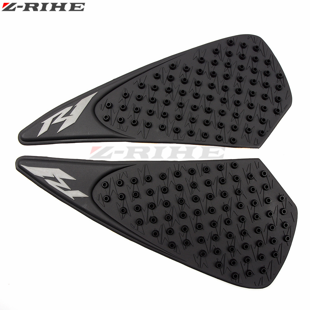 For Yamaha R1 2004-2008 2005 2006 2007 Motorcycle Anti Slip Gas Oil Tank Pad Protector Knee Grip Traction Side Decal Sticker Decals & Stickers Motorbike Accessories