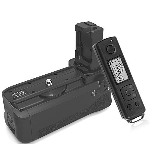 Meike MK-AR7 2.4G Wireless Remote System Battery Grip for Sony A7/A7R/A7S meike mk ar7 2 4g wireless remote system vertical battery grip holder with 2pcs np fw50 battery for sony a7 a7r a7s as vg c1em
