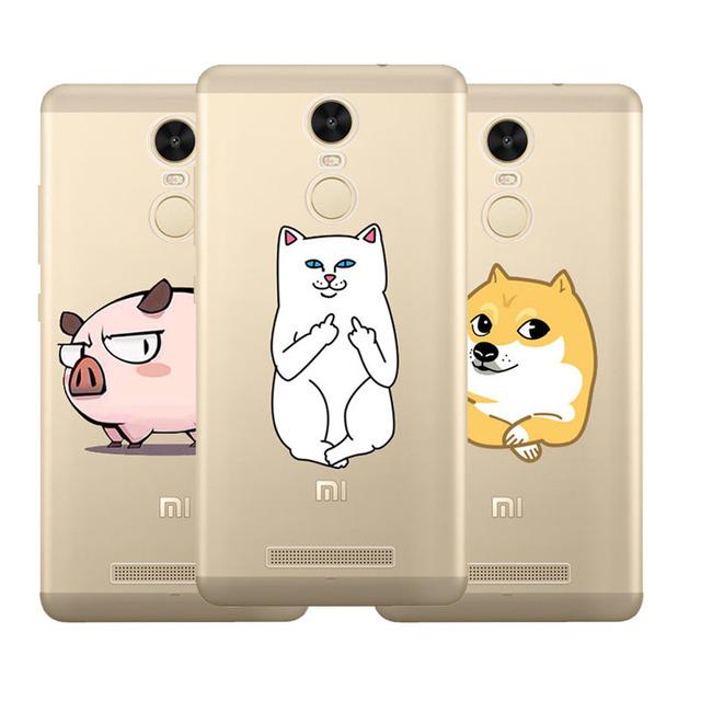 Middle Finger Cat Phone Cases iPhone 5 5s 6 6s 7 7plus