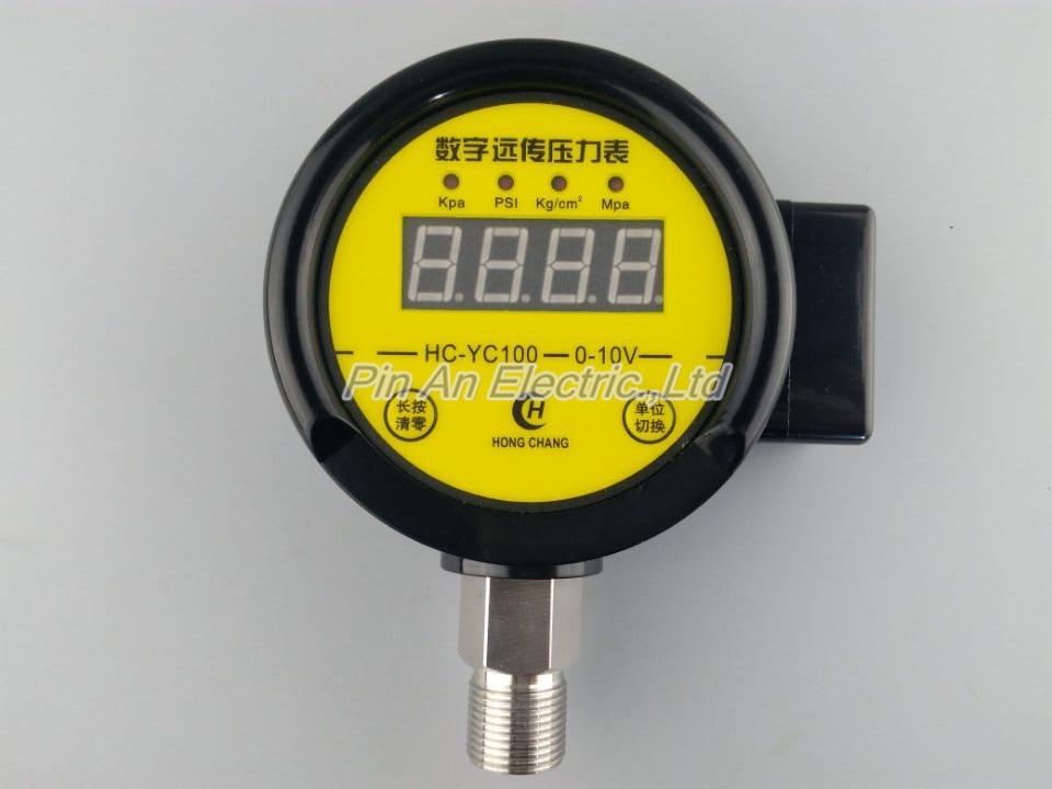 DC12V-24v 0-0.16MPA Digital remote pressure gauge constant pressure water supply Digital remote pressure gauge