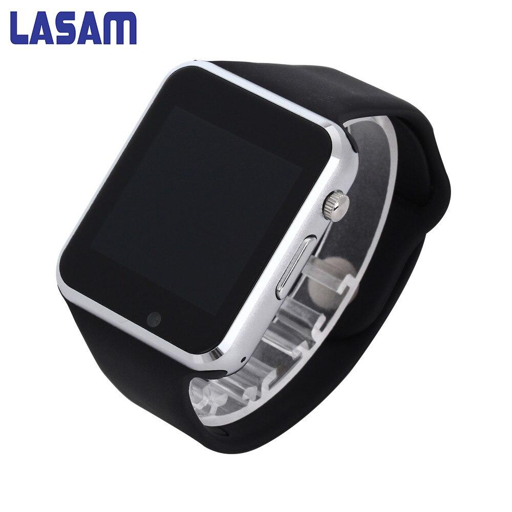 Nueva llegada a1 smart watch reloj de sincronización notificador sim soporte de