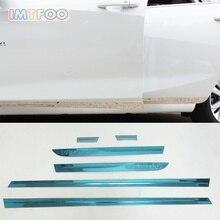 IMTFOO наклейки из нержавеющей стали для тела боковой двери для CHEVROLET MALIBU XL 2016 2017 2018, аксессуары, Стайлинг автомобиля