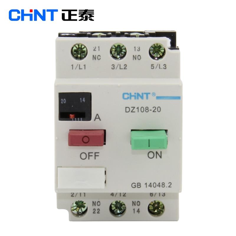 CHNT CHINT DZ108-20/211 111 AC Motor Starter General Motors Motor Protection Starter general motors module 24243086