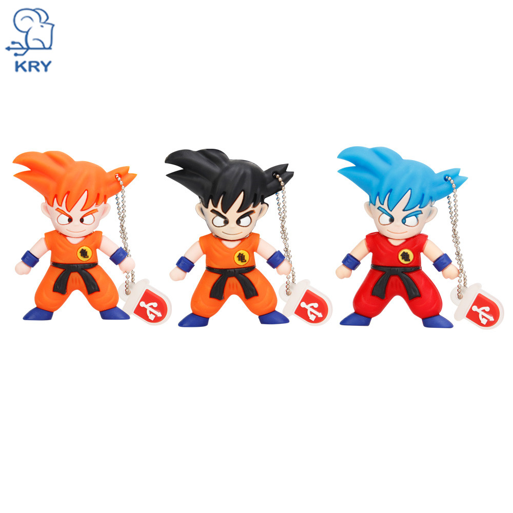 KRY 100% of the actual capacity Cartoon Monkey King High Speed USB3.0 Flash 4GB 8GB 16GB 32GB 64GB Business USB2.0 Free Shipping
