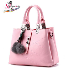 Fashion Fur Women Bag Handbags Women Famous Designer Women Leather Handbags Luxury Ladies Hand Bags Shoulder