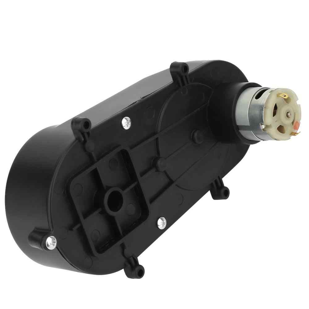 Universal Children Electric Car Planetary Gearbox 6V 12V dc Motor Steering Reverse Gearbox Kids Ride On Car Baby 5000rpm