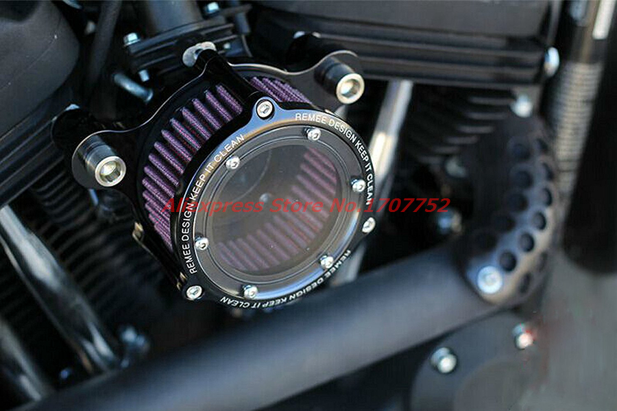 Motorcycle Engine Cleaner : Motorcycle engine cnc aluminum air cleaner intake