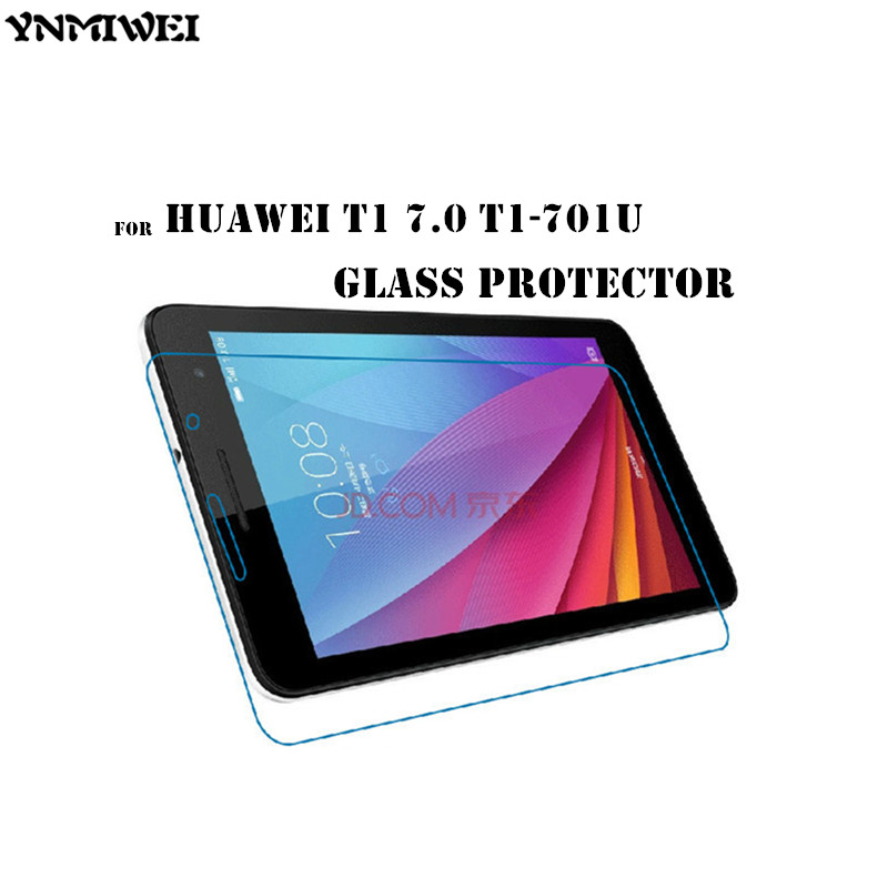 Mediapad T1-701 Glass Screen Protector For Huawei MediaPad T1 7.0 T1-701u Tempered Glass Screen guard For T1-701w Protect Films