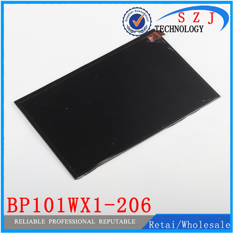 New 10.1'' inch LCD Display Assembly With Digitizer Panel Touch Screen For Lenovo S6000 BP101WX1-206 Tablet PC Free shipping new 10 1 inch tablet pc for nokia lumia 2520 lcd display panel screen touch digitizer glass screen assembly part free shipping