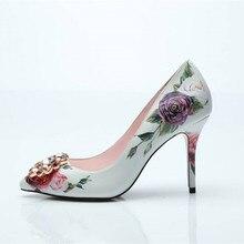 الربيع أحذية امرأة عالية
