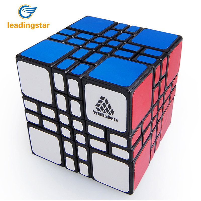 LeadingStar Mixup Plus Black Magic Cube Puzzle Speed Puzzle Cubes Anti Stress Classic Toys Learning Educational