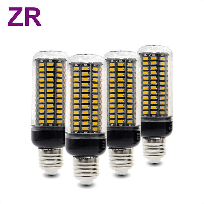 4pcs/lot LED Bulb SMD5730 Lamp E27 E14 3W 4W 5W 7W 9W 12W LED Corn Light AC85-265V Lampada No Flicker Constant Current ...