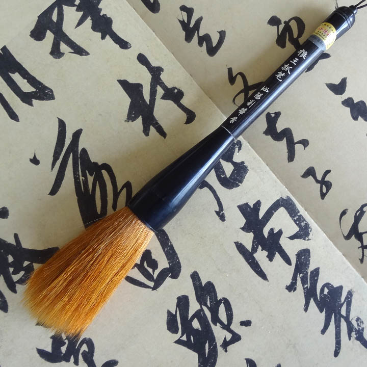 New arrival RuyangLiu Chinese calligraphy brush ink pen multiple hairs weasel/woolen writing calligraphy brush ink freehand ruyangliu weasel hairs calligraphy brush pen writing brush cursive script regular script calligraphy chinese time honored