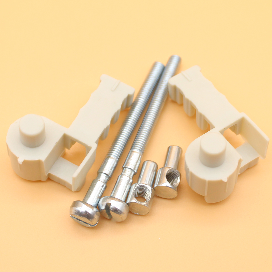 2X Chain Tensioner Adjuster Screw For Stihl Chainsaw 017 018 MS170 MS180 MS 170 180 Replace 1120 664 1500 / 1123 664 1605 chainsaw engine housing crankcase for stihl chain saw 170 180 ms170 ms180 1130 020 3002