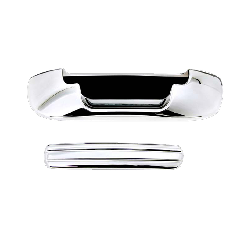 EAG 02-08 Dodge Ram 1500//03-09 Dodge Ram 2500//3500 Mirror Covers Triple Chrome Plated ABS